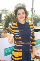 Taapsee Pannu looks super cute at United colors of Benetton standalone store launch at Banjara Hills ~  Exclusive Celebrities Galleries 024.JPG