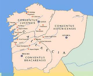 Mapa de Gallaecia