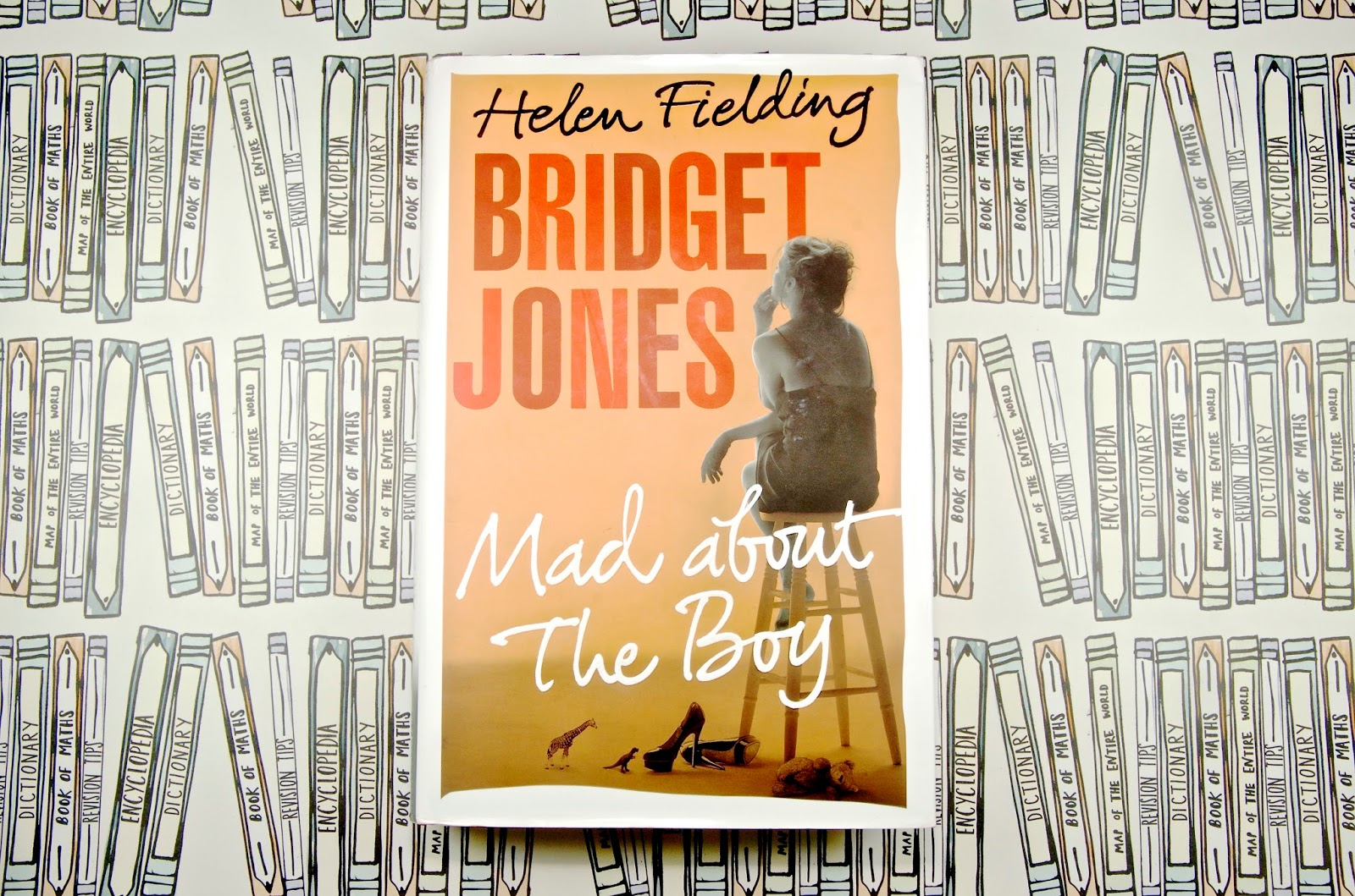 Bridget Jones Mad About the Boy by Helen Fielding Book