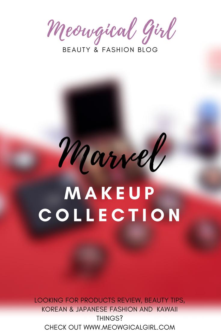 Marvel Makeup Collection | Meowgical Girl