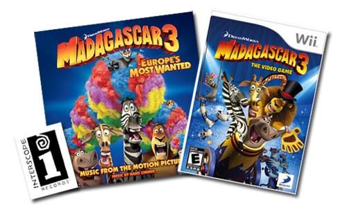 iLoveToCreate Blog: CRAFTY CONTEST: Win a Madagascar 3
