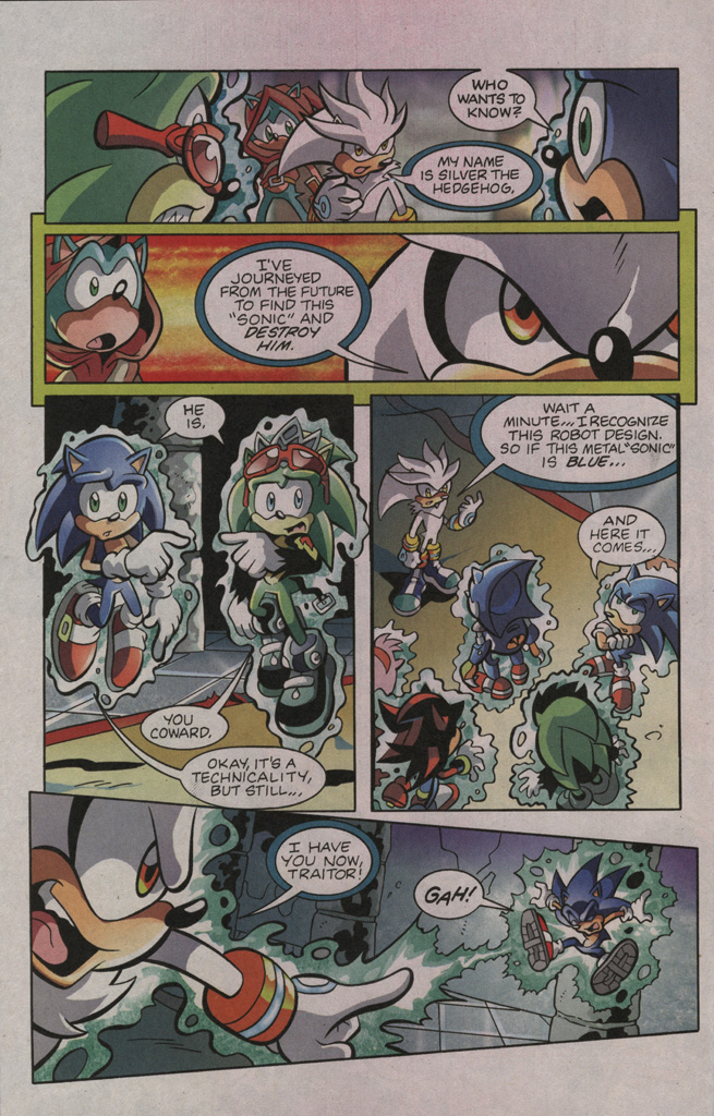 Read online Sonic The Hedgehog comic -  Issue #195 - 18