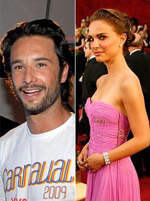 Rodrigo Santoro e Natalie Portman estão juntos
