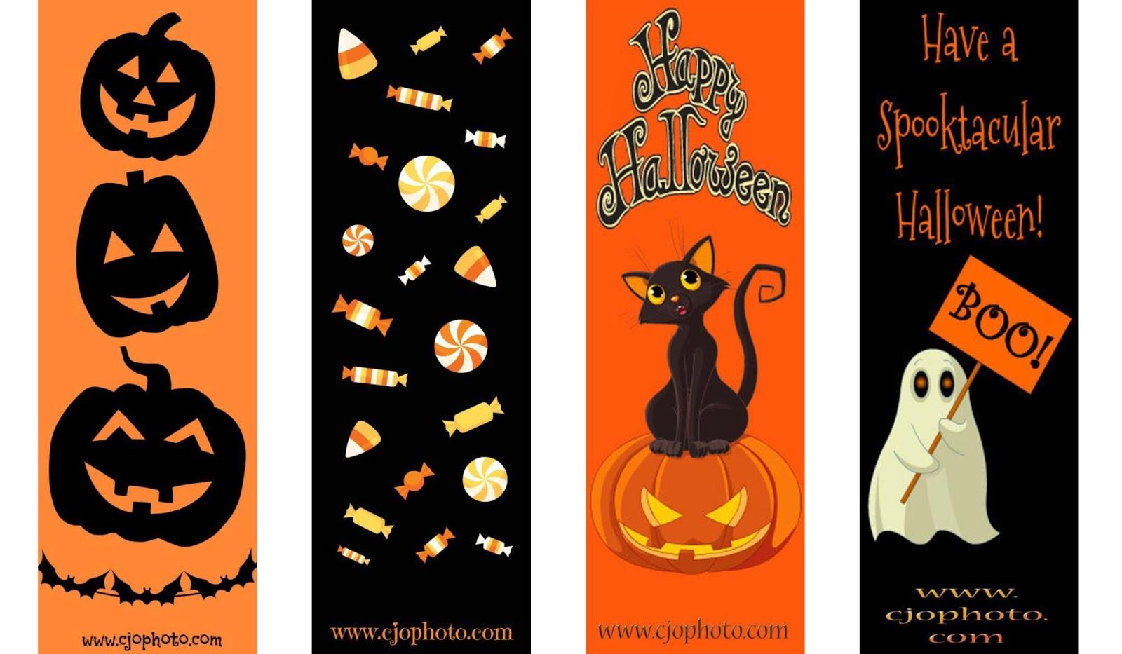 halloween bookmarks - Halloween Book Marks