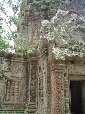 Friezes of the Temples of Angkor - Cambodia