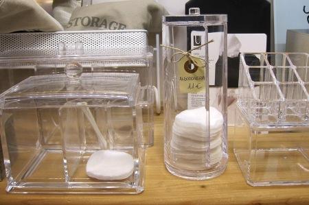 Algodoneras, para discos desmaquilladores y bastoncillos