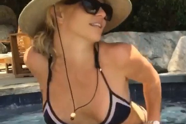 Britney Spears Shares Her New Sexy Pics On Instagram