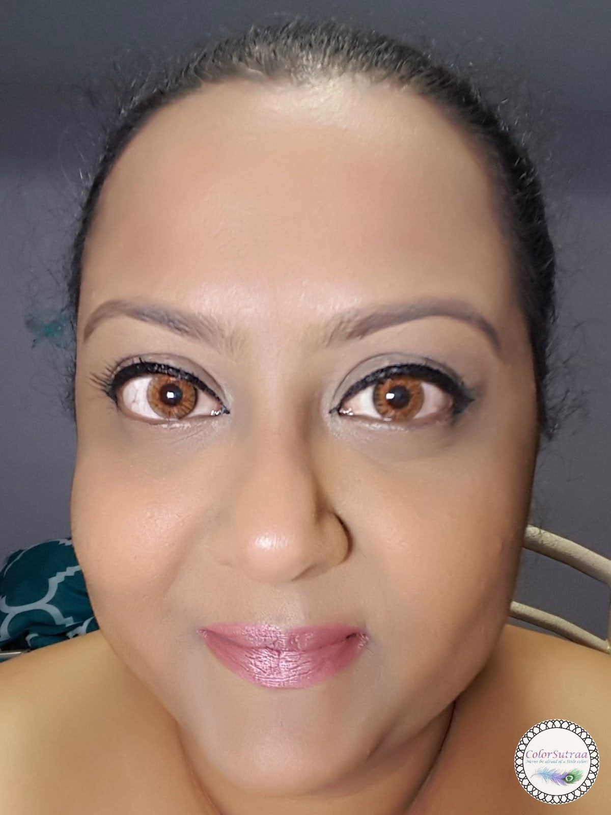 August 2018 Colorsutraa Lock It Cushion Lip Pen 10 Nudi Beige Gently Winged Liner Just On The Upper Lashline And A Pretty Pink Toned Lipstick Like Nude Shimmer Shown Below What Do You Think
