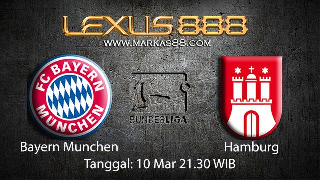 BOLA88 - PREDIKSI TARUHAN BOLA BAYERN MUNCHEN VS HAMBURG 10 MARET 2018 ( GERMAN BUNDESLIGA )
