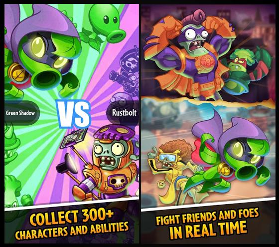 Plants vs Zombie Heroes v1.0.17 Apk