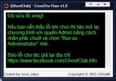 Sửa lỗi nhân vật đứng im hoặc tự di chuyển trong CF 2.0 trong một click