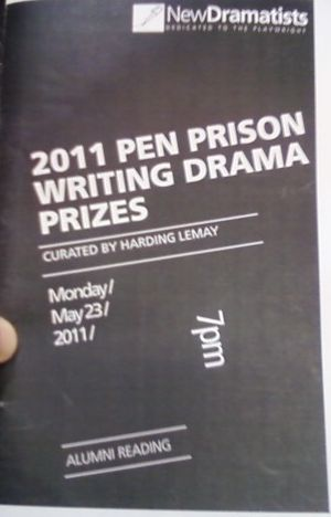 pen writing awards for prisoners