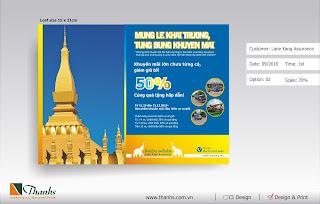 Banner+khai+truong+Lane+Xang+Assurance Bộ nhận diện Thương hiệu Công ty CP Bảo hiểm Lane Xang
