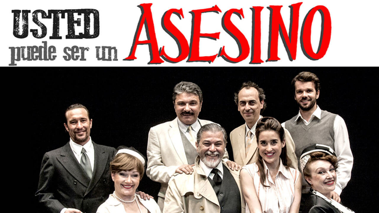 Walking On Air Usted Puede Ser Un Asesino Teatro