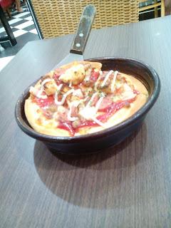 personal pan beef mayo pizza hut palangkaraya