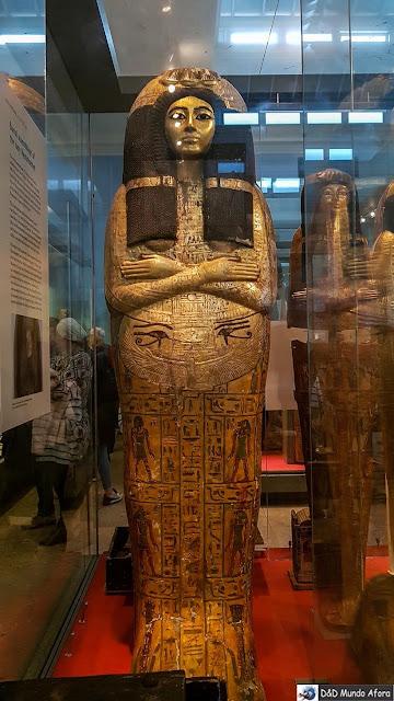 Múmia Katebet no Museu Britânico em Londres