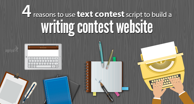 Need a website to a writing contest ?