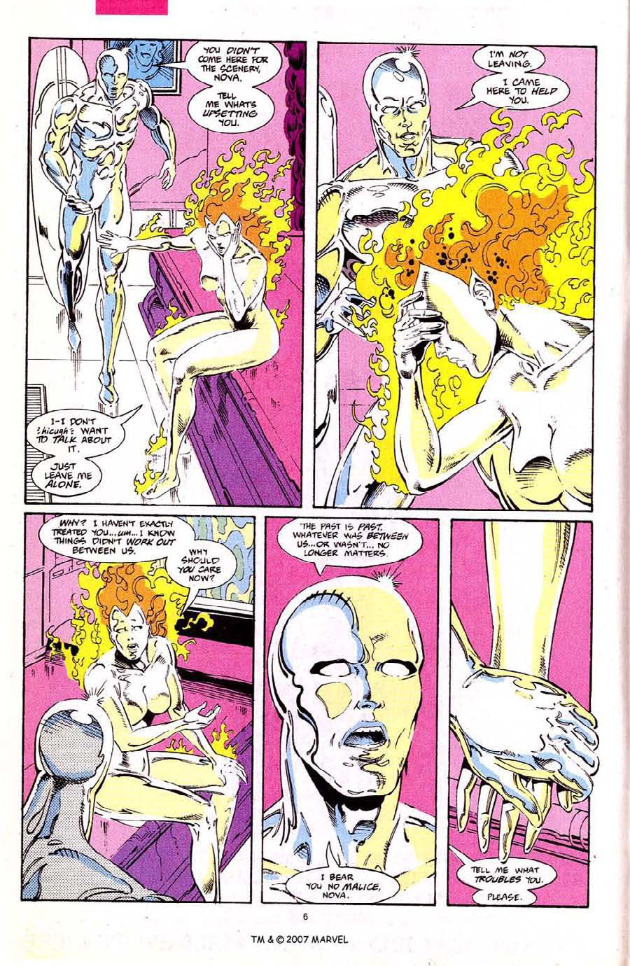 Read online Silver Surfer (1987) comic -  Issue #68 - 8