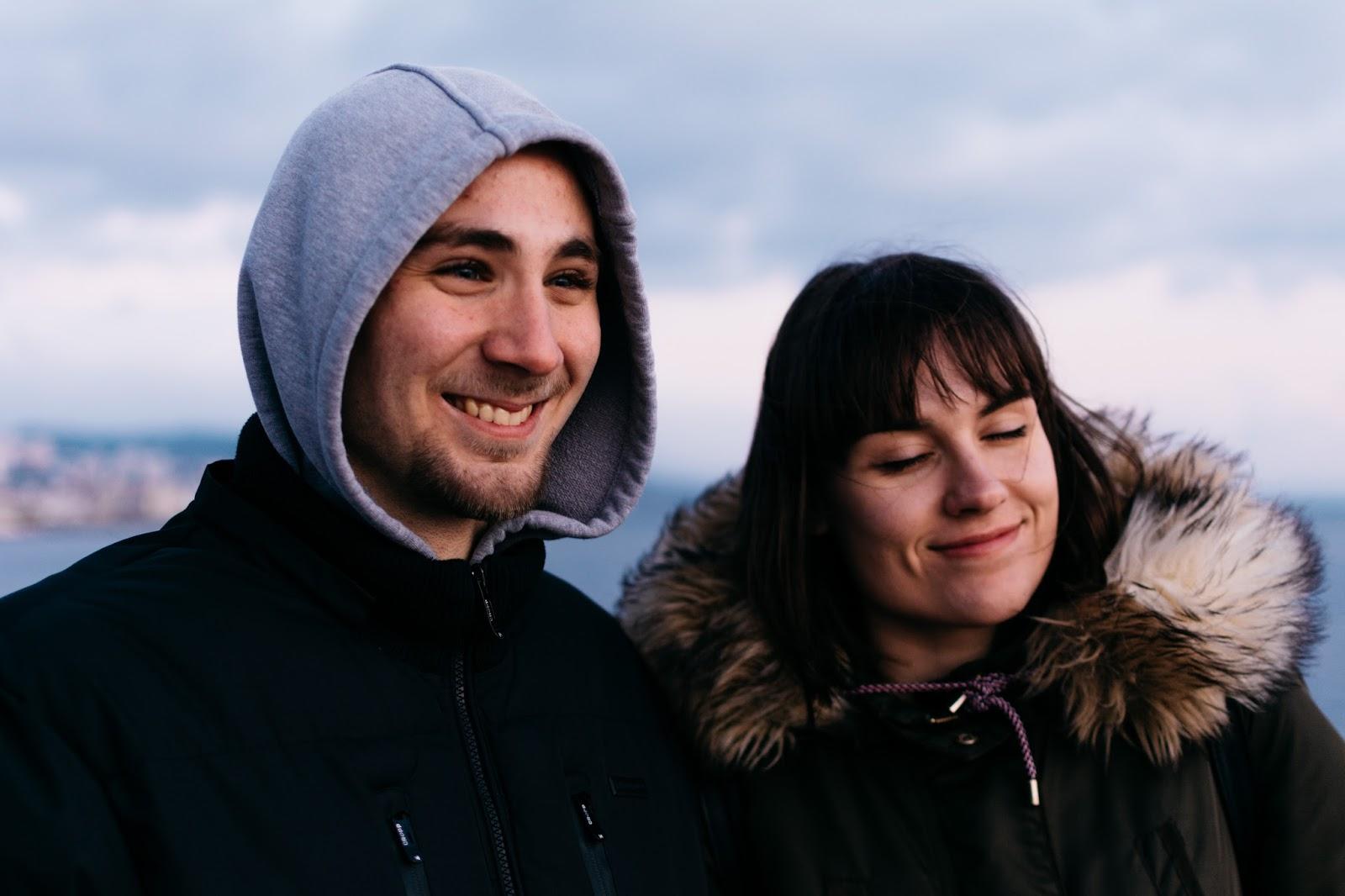 Smiley Mladen and Ana