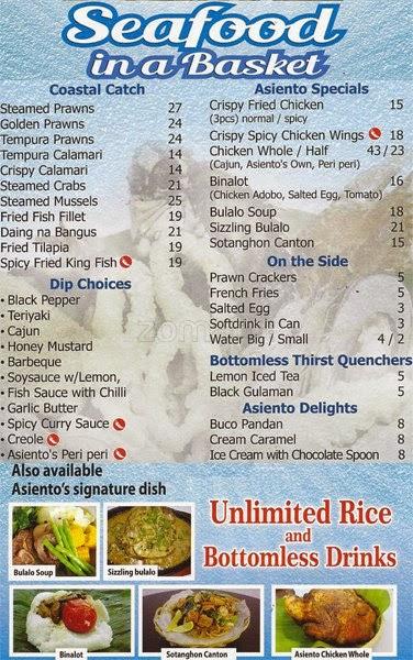 Asiento De Mar Mina in Dubai - A Filipino Seafood Place