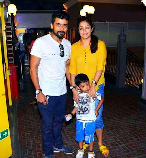 Dev Suriya with Surya And Jothika