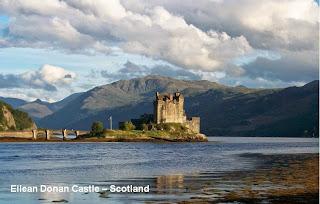 eilean donan castle scotland highlander