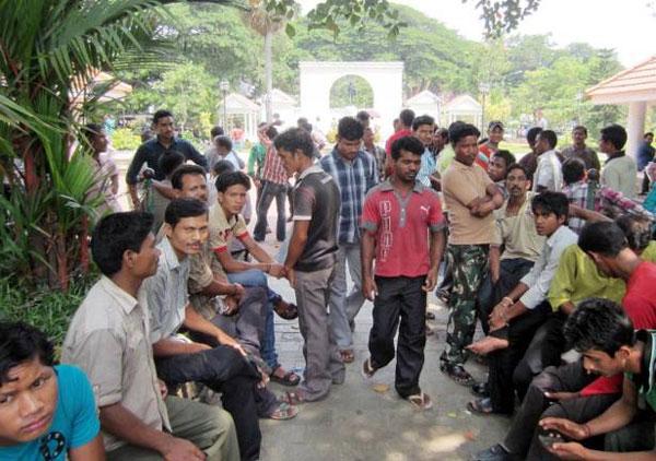 Drastic reduction in number of migrant workers in Kerala, Malappuram, News, Malayalees, Social Network, Report, Kerala