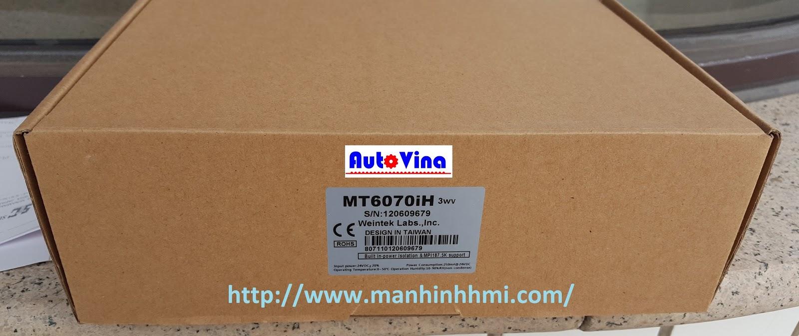 Vỏ họp màn hình MT6070iH trong kho Công ty TNHH Cơ Điện Auto Vina
