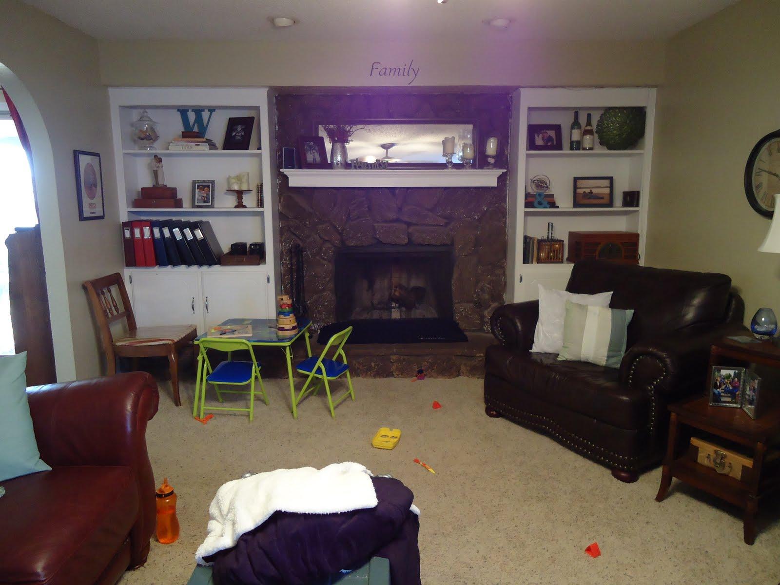 Life on Purpose: My Ugly Fireplace Redo