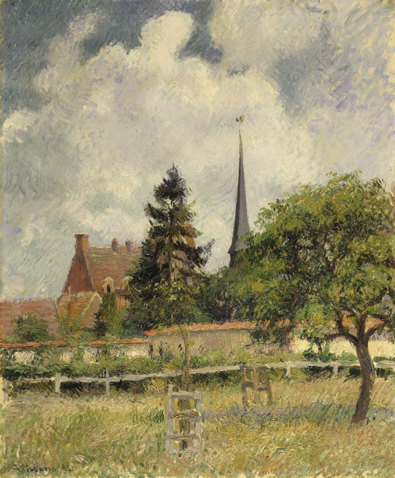 Camille Pissarro: My French Easel: If Artists Were Trees