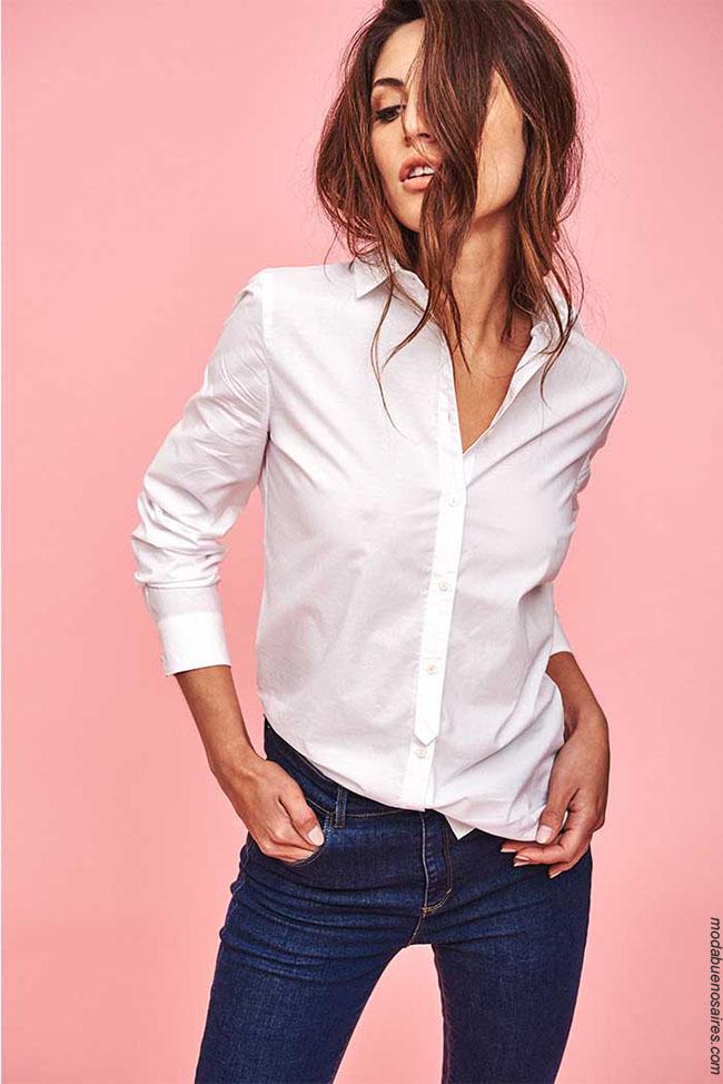 Camisas invierno 2018 ropa de moda. Blusas y camisas otoño invierno 2018.
