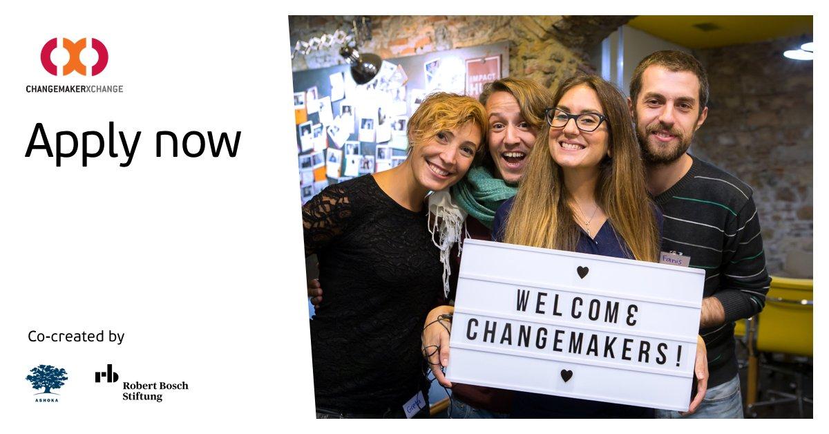 Ashoka ChangemakerXchange Conference 2019 , China (Fully Funded