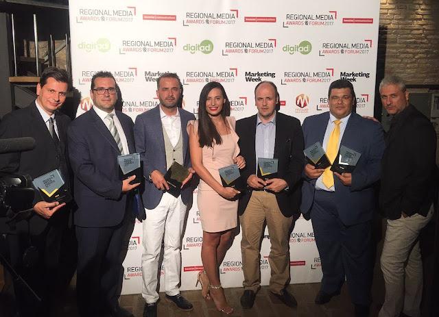 Χρυσό βραβείο στον τηλεοπτικό σταθμό ΙΟΝΙΑΝ στα Regional Media Awards 2017 (βίντεο)