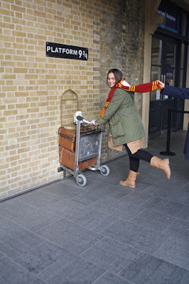 Harry Potter en King's Cross Station