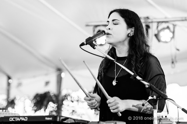 Bonnie Trash at Riverfest Elora 2018 at Bissell Park on August 19, 2018 Photo by John Ordean at One In Ten Words oneintenwords.com toronto indie alternative live music blog concert photography pictures photos