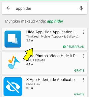 Cara menyembunyikan icon aplikasi di HP Xiaomi