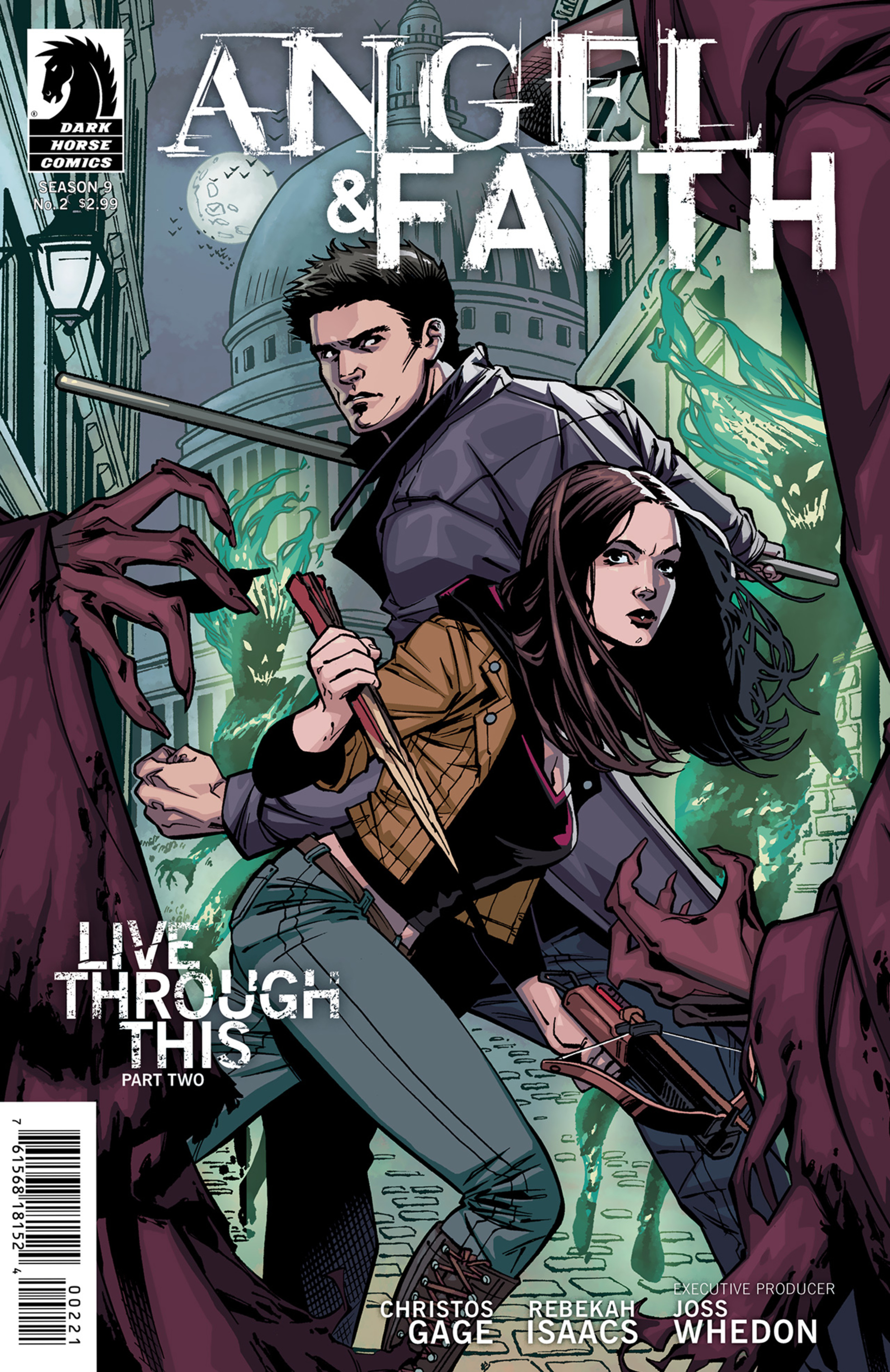 Read online Angel and Faith comic -  Issue #2 - 2