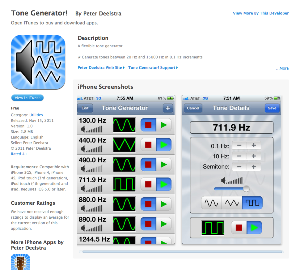 Free App Today - Tone Generator! | TeacherLINK Blog!