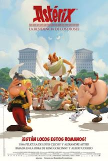 Asterix: La residencia de los Dioses (2014) Online