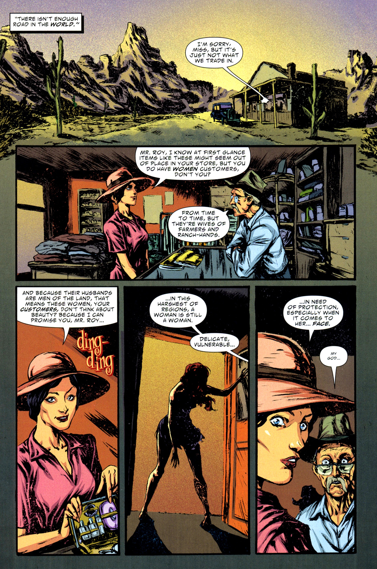 American Vampire issue 11 - Page 6