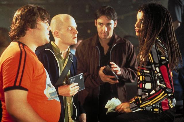 Lisa Bonet (dcha) junto a Rob y sus amigos