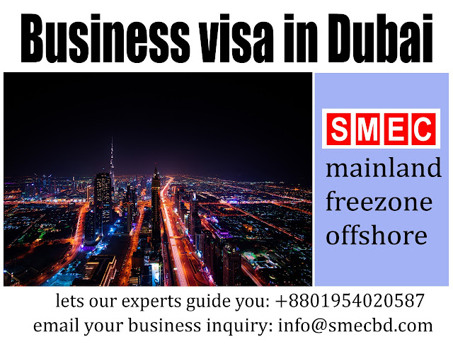 Dubai Business Visa from Bangladesh
