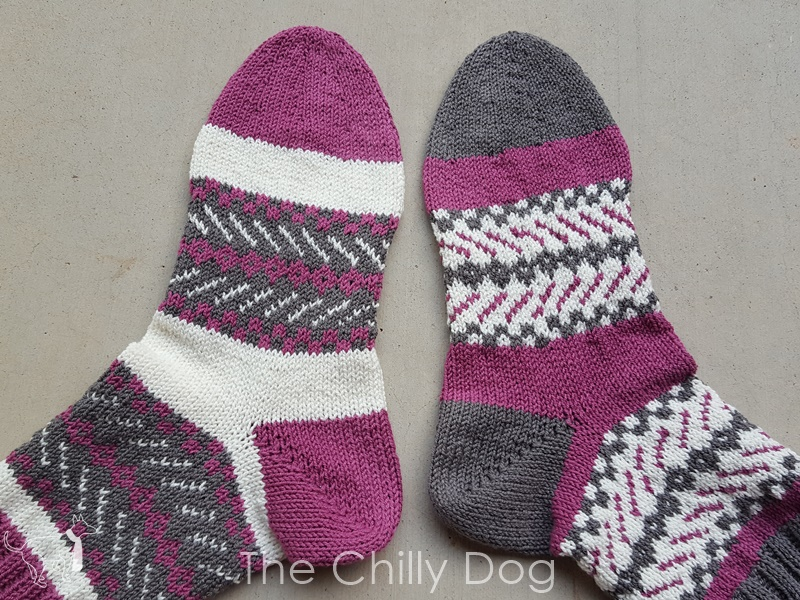 How to Knit Star Toes for Socks The Chilly Dog