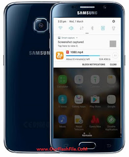 Samsung Galaxy S6 Ported Support All S6 Models Firmware Flash File Stock Rom