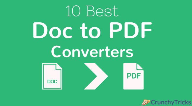 Doc to PDF Converters