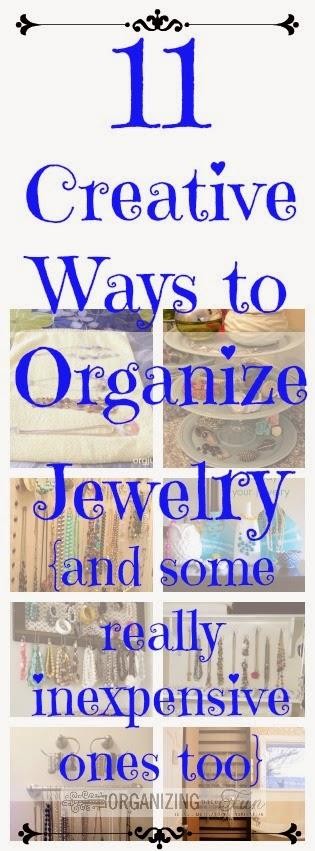 11 Creative Ways To Organize Your Jewelry Organizing