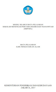 Download Silabus IPA Kelas 7, 8 & 9 SMP/MTs Kurikulum 2013 Tahun Ajaran 2017/2018