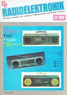 Okładka radioelektronik 9/89