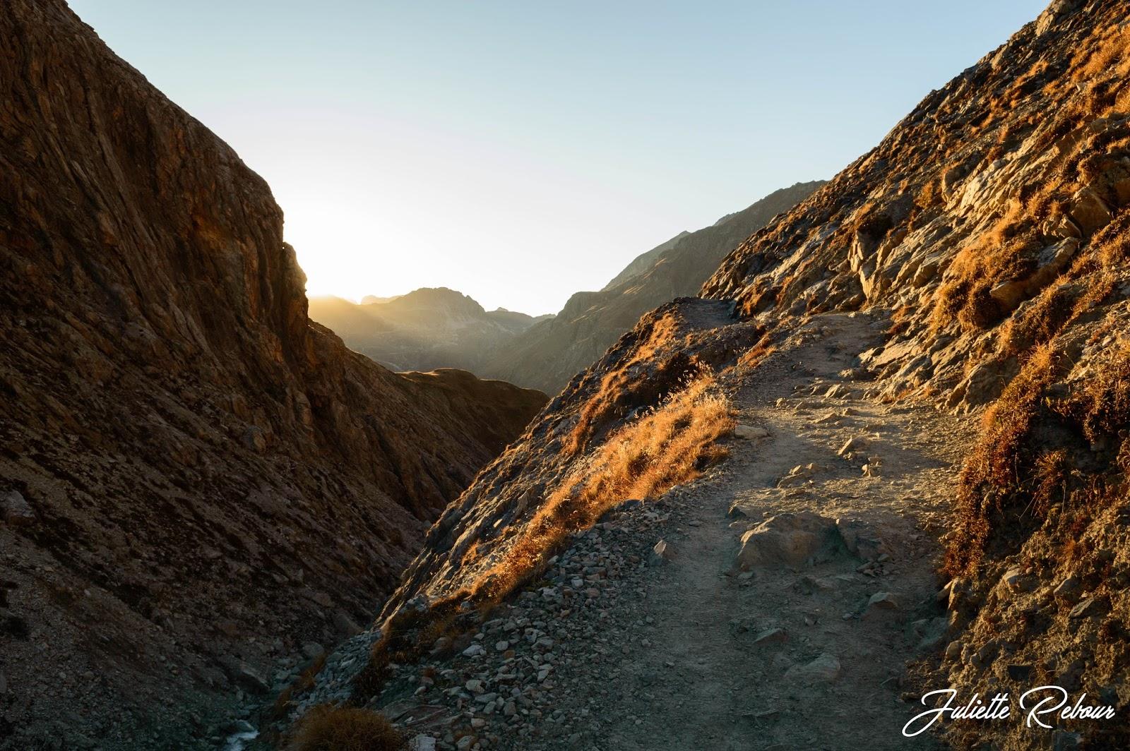Golden hour en Savoie