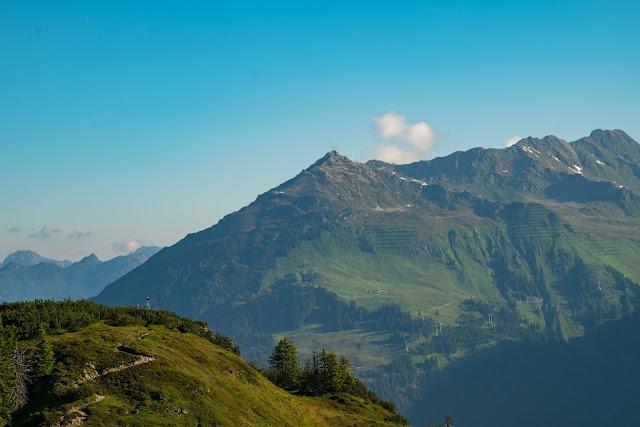 Panoramaweg Gantakopf  Wandern im Montafon 06